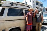 Aron and Linda's van