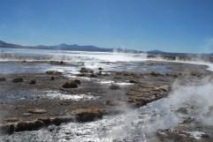 Steaming Laguna Polques