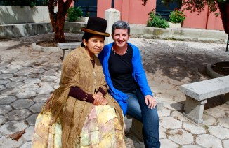 Bolivia: I interviewed Norma Barrancos Leyva for a BBC article on cholitas.