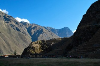 Inca ruins, Ollantaytambo, Sacred Valley, Peru