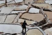 Salt pans, Moras, Peru