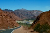 Driving to Cafayate
