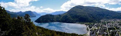 Lago Lacar, San Martin de los Andes, Argentina.