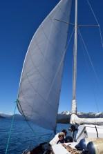 Sailing on Lago Nahuel Huapi, Argentina