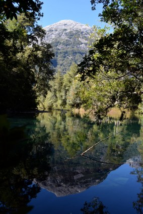 Crystal clear water, La Junta