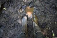 Muddy wellies, La Junta
