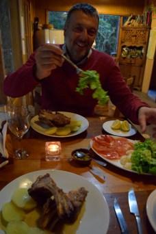 Birthday dinner for Jeremy