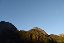 Evening sky, La Junta, Chile
