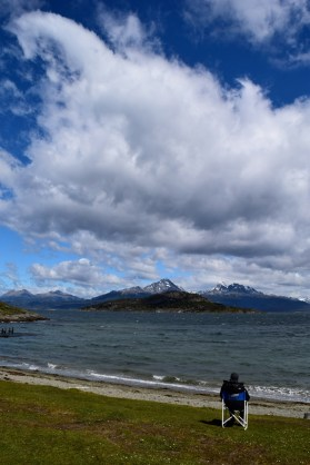 Taking a moment - Beagle Channel
