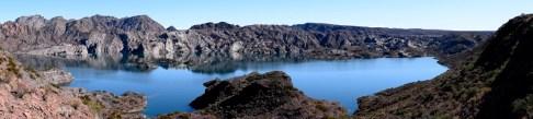 Los Reyunos reservoir