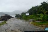 Rainy arrival, Trindade