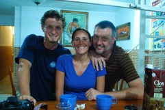 Colombia: Final night with Zach and Jill after several weeks together