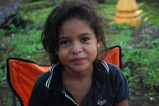 Nicaragua: this little girl visited our van.