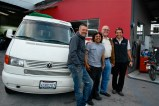 Ecuador: The van was broken for so long we were practically adopted by those who worked at Lothar Ranft's workshop.