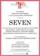 Invitation - Star-studded Seven on Broadway
