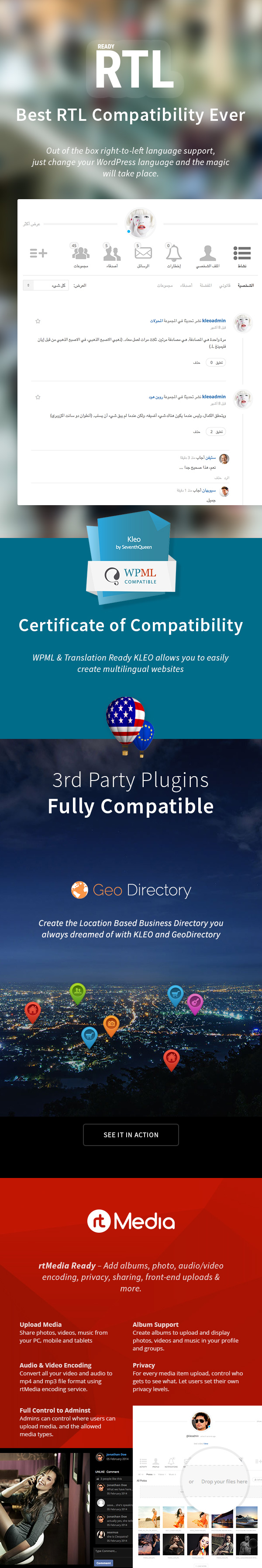 KLEO - Pro Community Focused, Multi-Purpose BuddyPress Theme - 19