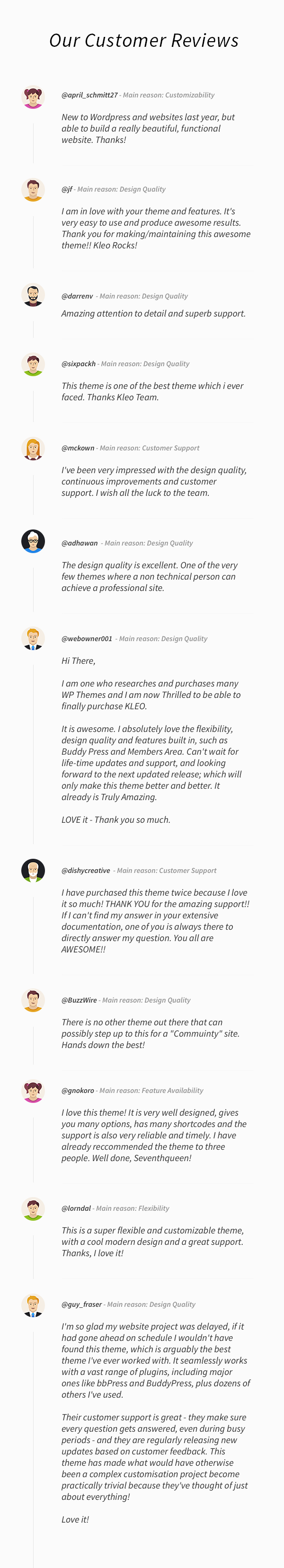 KLEO - Pro Community Focused, Multi-Purpose BuddyPress Theme - 6
