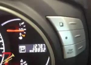 nissan tire maintenance light reset
