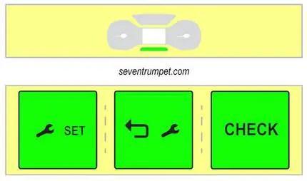service spanner light reset