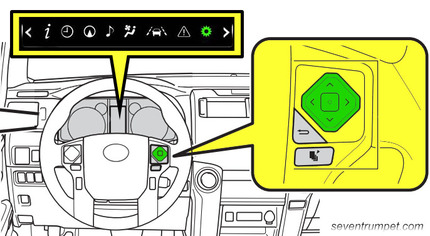 toyota tire pressure tpms light reset