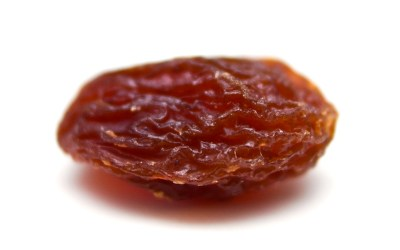 I listened to a raisin