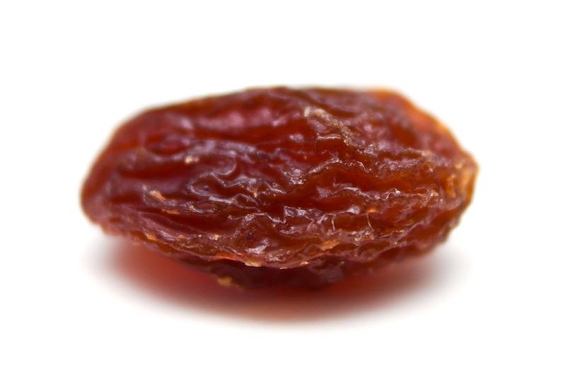 I listened to a raisin