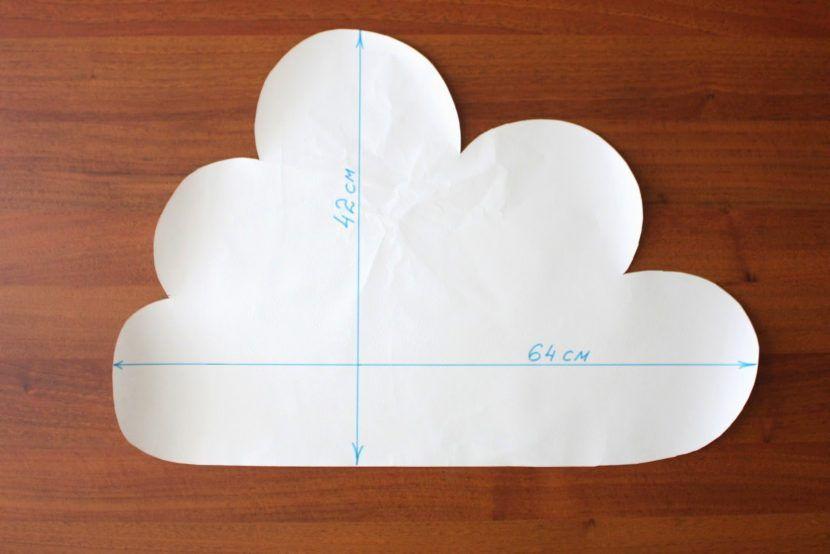 어린이 그림 구름의 안전
