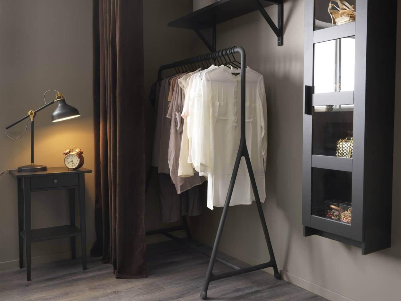 напольная вешалка для одежды