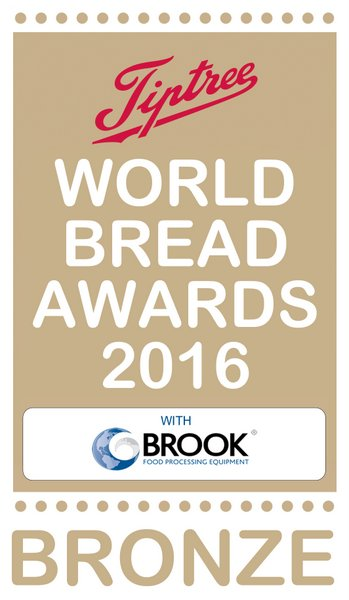 World Bread Awards 2016 Bronze - Almond Babka