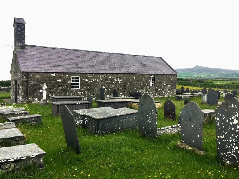Llanfaelrhys church