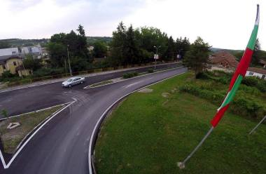 Ремонтираният път през Димово вече е отворен за пътуване