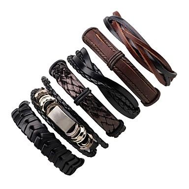 pulseras de cuero