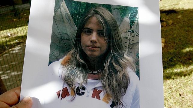 Un cartel con la foto de Marta del Castillo