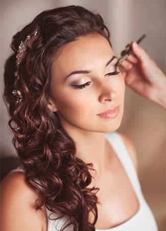 Resultado de imagen de maquillaje novia