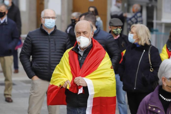 El acto de Vox por la defensa de la Constitución en Córdoba, en imágenes