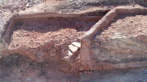 Lugar donde fueron encontradas las monedas