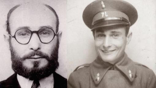Juan Pujol, en dos momentos de su carrera como espía