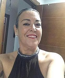Nieves Triviño, novia del expapa