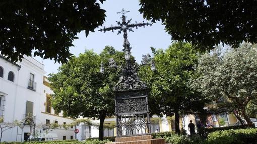 La plaza de Santa Cruz, donde están enterradas las cenizas de Murillo