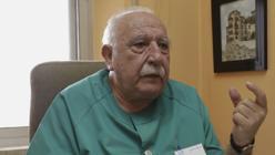 López Elorza es bioquímico y fundador del laboratorio Lab Sur