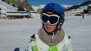Una sevillana gana el campeonato de España de esquí alpino adaptado