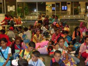 Una de las actividades que ha destacado a esta organización es 'Vacaciones en Paz'. Se trata de un proyecto en el que cada año niños y niñas saharauis llegan a España