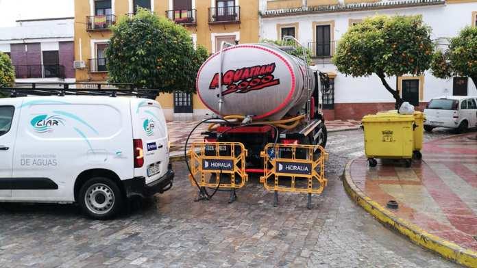 Aqua Campiña abastecerá de agua a los vecinos de Écija que lo necesiten -  Sevilla Buenas Noticias