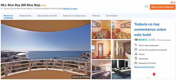 Hotel barato en Mallorca, con piscina y cerca de la playa