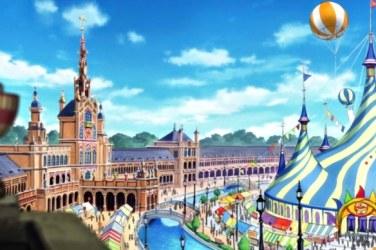 plaza de españa anime