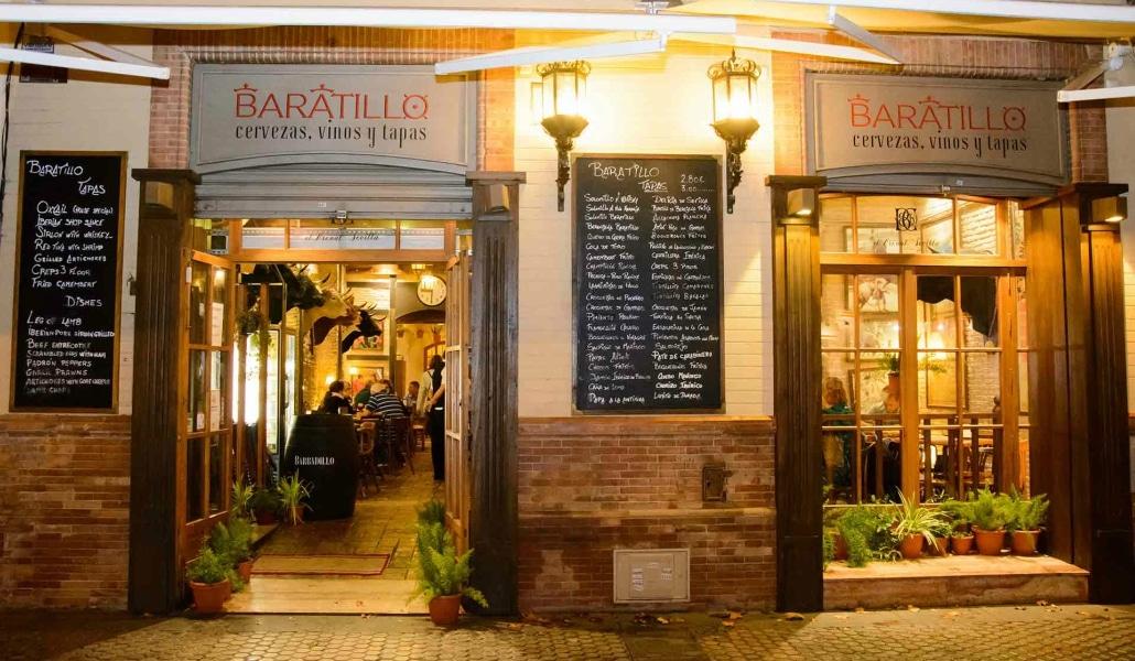 Bar El Baratillo portada