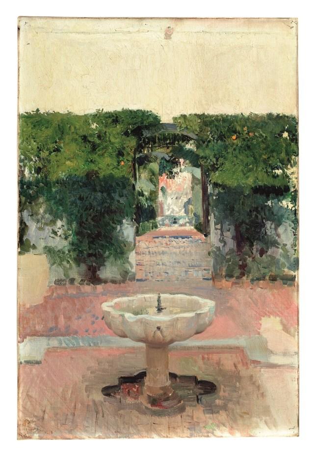 joaquin-sorolla-i-fuente-arabe-del-alcazar-de-sevilla-i-1910-museo-sorolla-c-fundacion-museo-sorolla