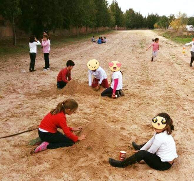 camino de los niños grupo joven sevilla sur rocio
