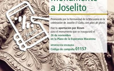 La Macarena abre una campaña de aportación para el monumento a Gallito