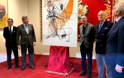 Una obra abstracta de Albert Oelhen anunciará la temporada de Sevilla en 2020